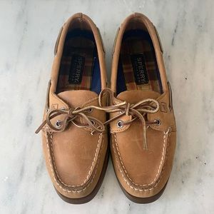 Sperry Top-Sider in Brown Leather